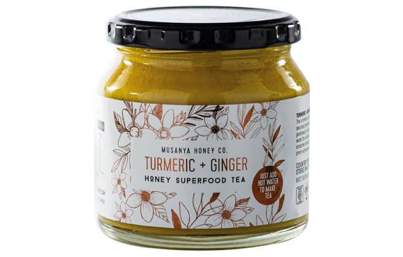 HONEY TEA – TURMERIC & GINGER